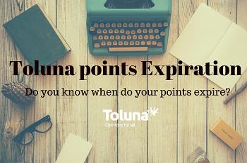 Toluna Points Do Expire