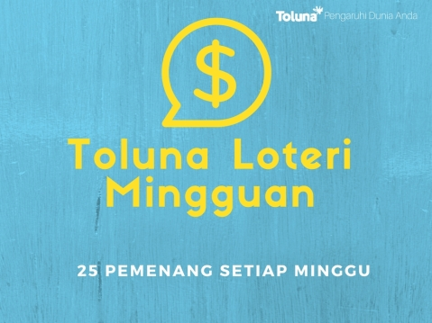 Toluna Weekly Sweepstakes malay