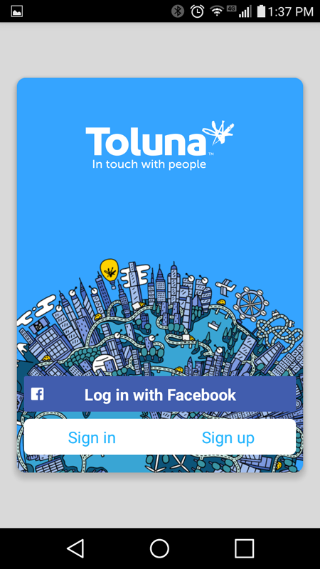 toluna-registration-screen