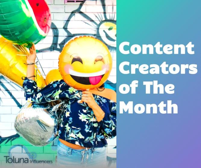 Content Creator of the month